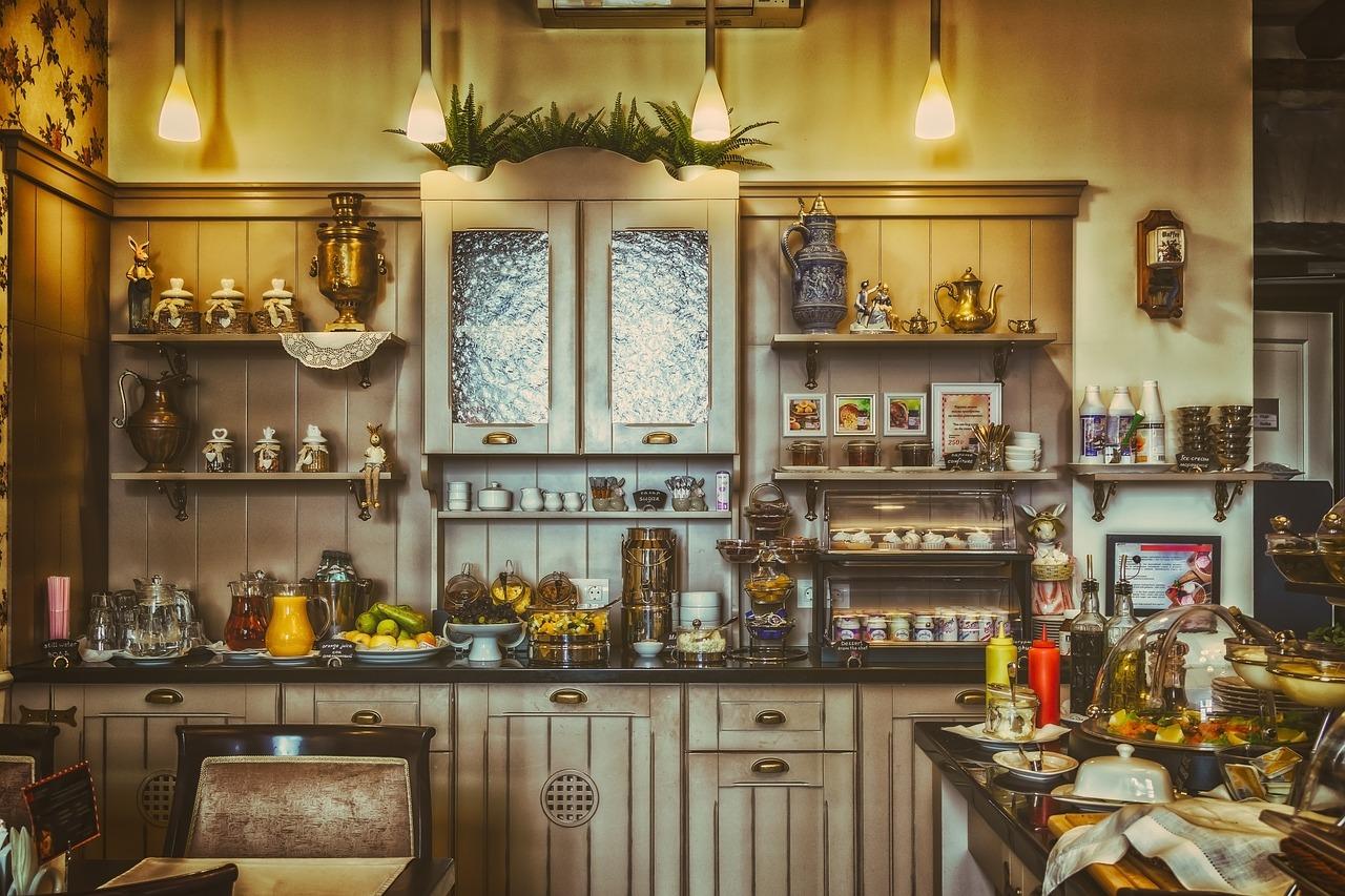 Buffet de cuisine