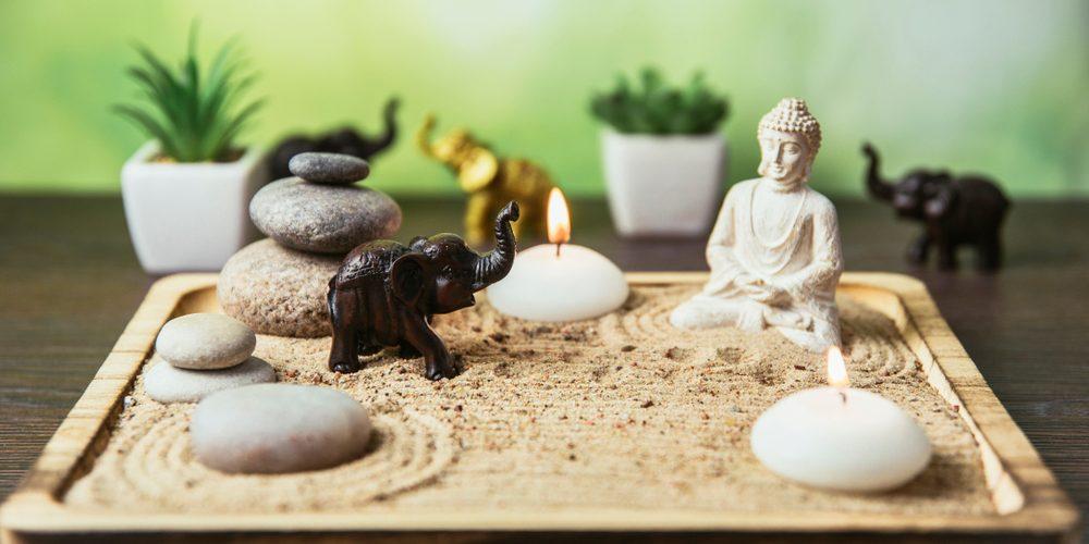 créer un jardin zen miniature chez soi